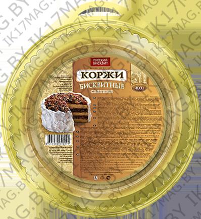 Корж бисквитный «Русский бисквит» 400 г.