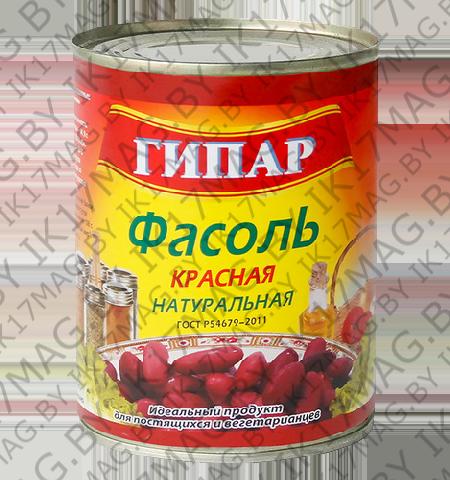 """Фасоль красная натуральная """"Гипар"""" 400 гр."""