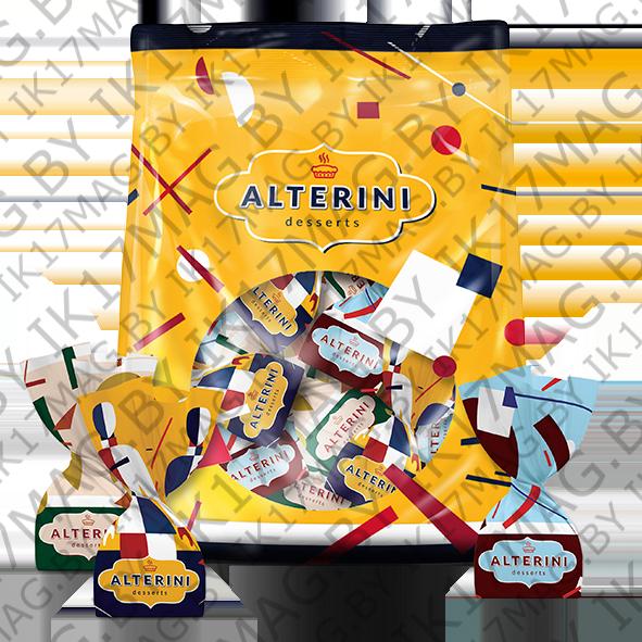 """Конфеты """"Alterini"""" ассорти (воздушный рис, арахис, кокос) 500 гр."""